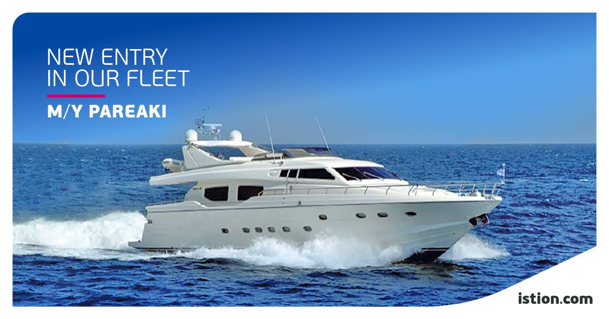 M/Y PAREAKI - Posillipo Technema 80 - NEW FLEET ENTRY | Speed and elegance