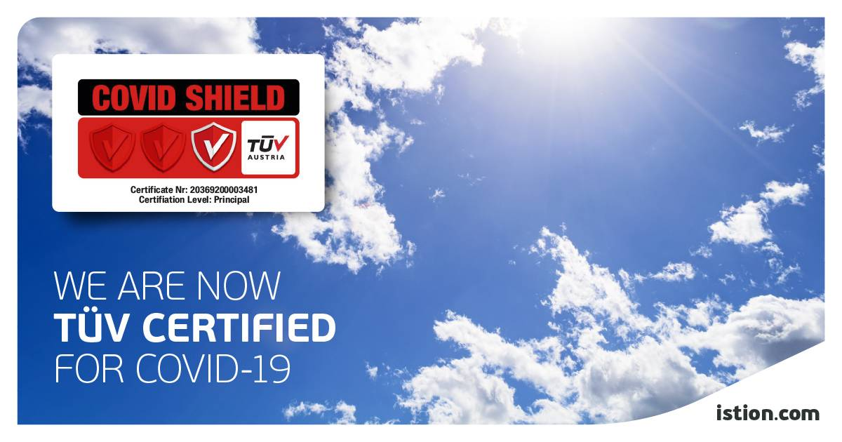 TÜV Certifies Covid-19 Shield Operation & Management by Istion Yachting