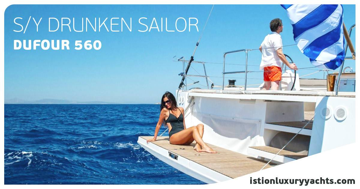 Drunken Sailor - Cyclades Itinerary by Cpt. I. Giannopoulos | For those who LOVE sailing