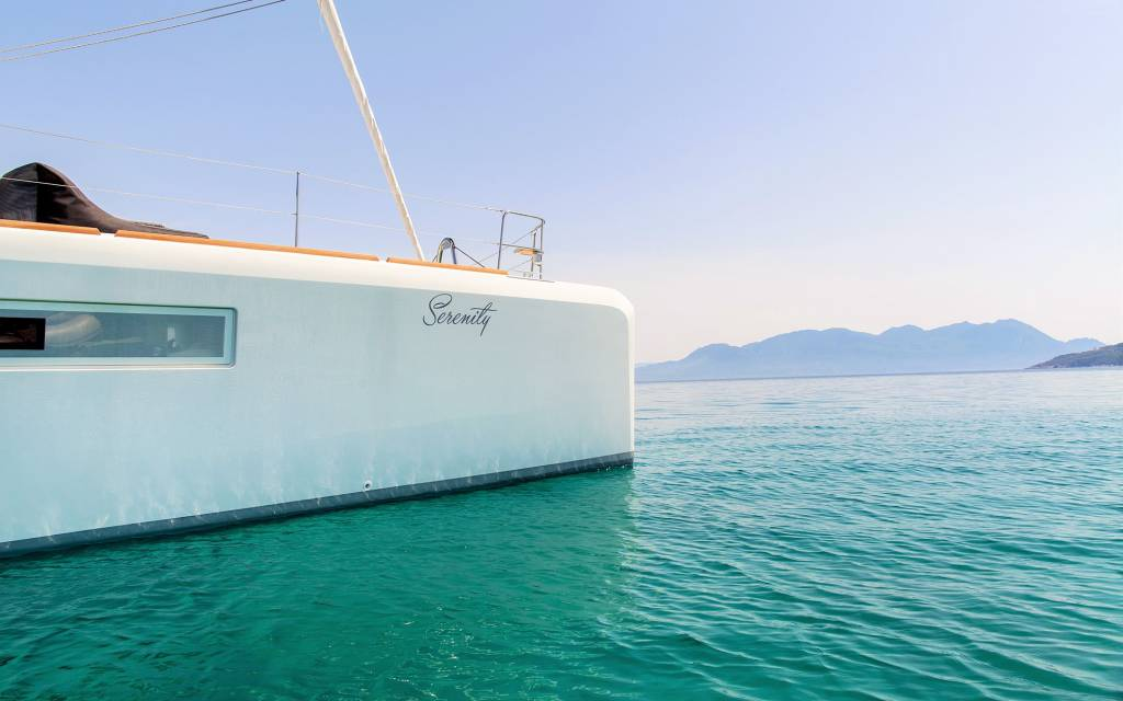 Serenity Lagoon 52, Istion's new catamaran available in Greece for 2015
