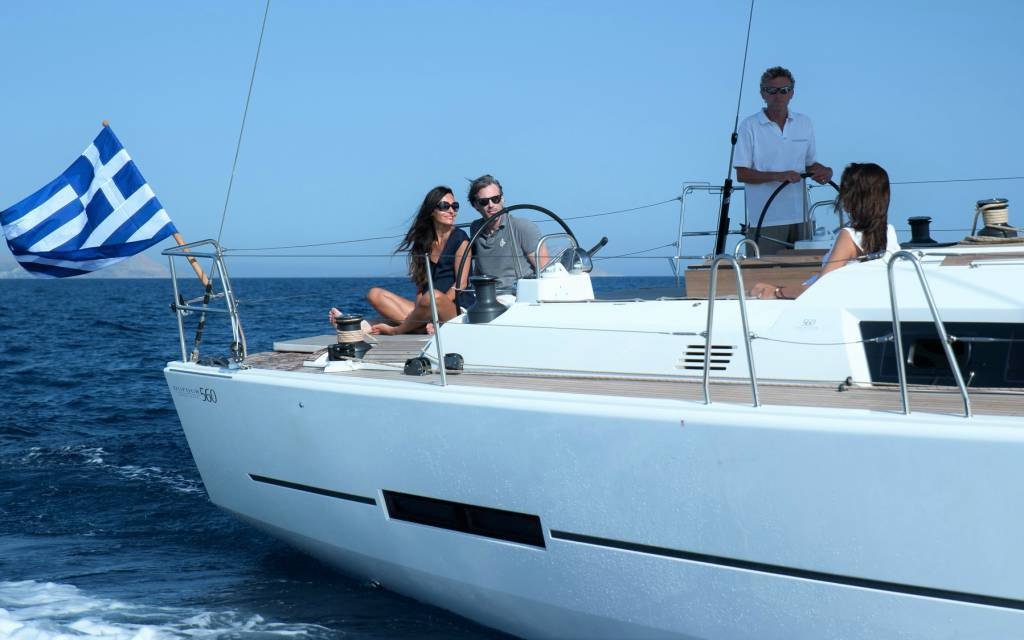 Mimosa, a Dufour 560 available for the summer of 2015