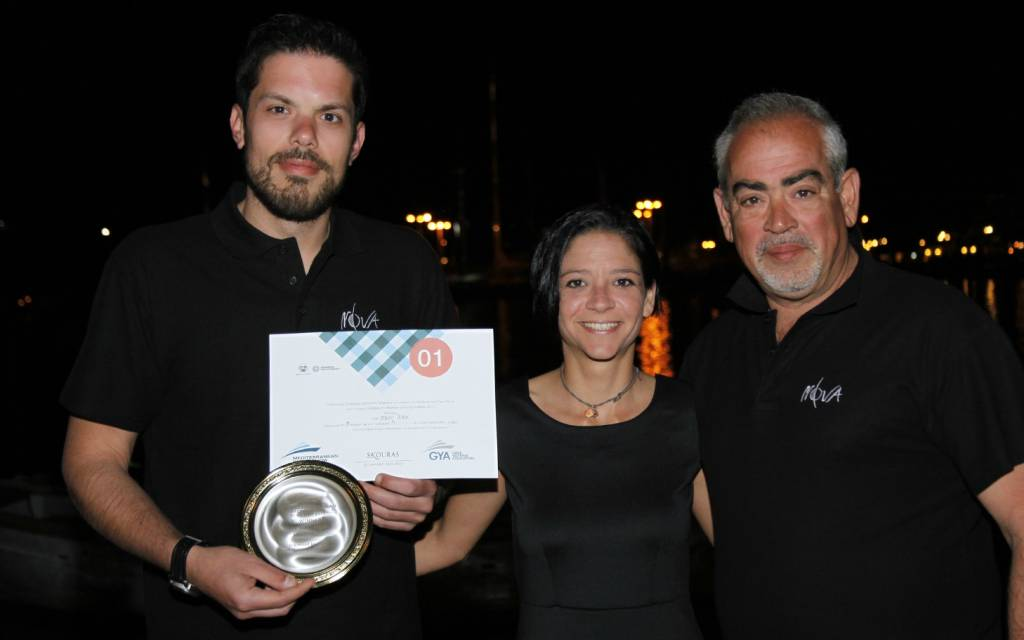 Stelios Petsas, Chef of S/C NOVA takes 1st place in MEDYS 2015 Chef's competition