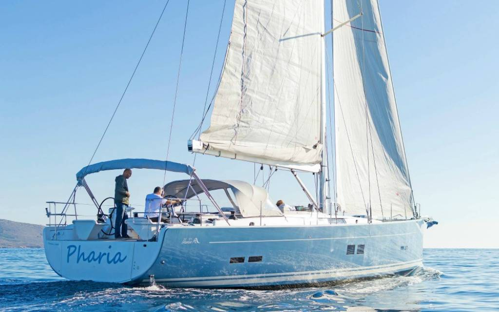 New Boat: Pharia, Hanse 575