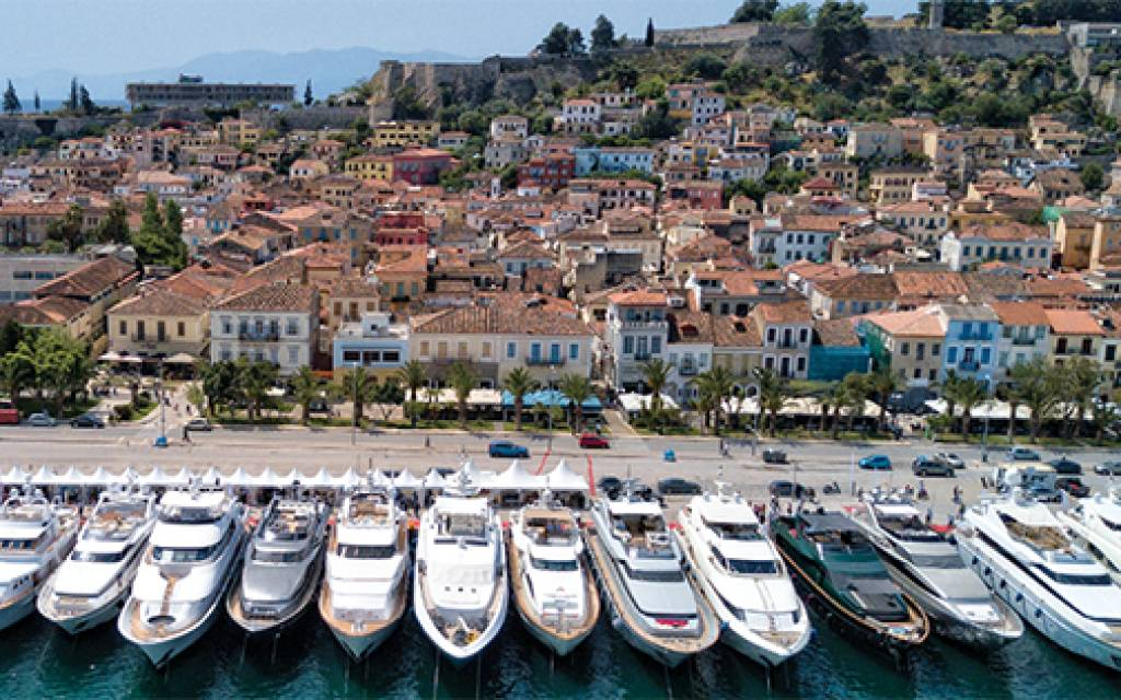 Istion Yachting at the 2018 Mediterranean Yacht Show in Nafplion